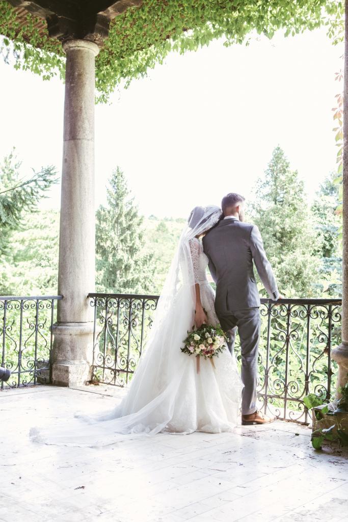 long wedding veils