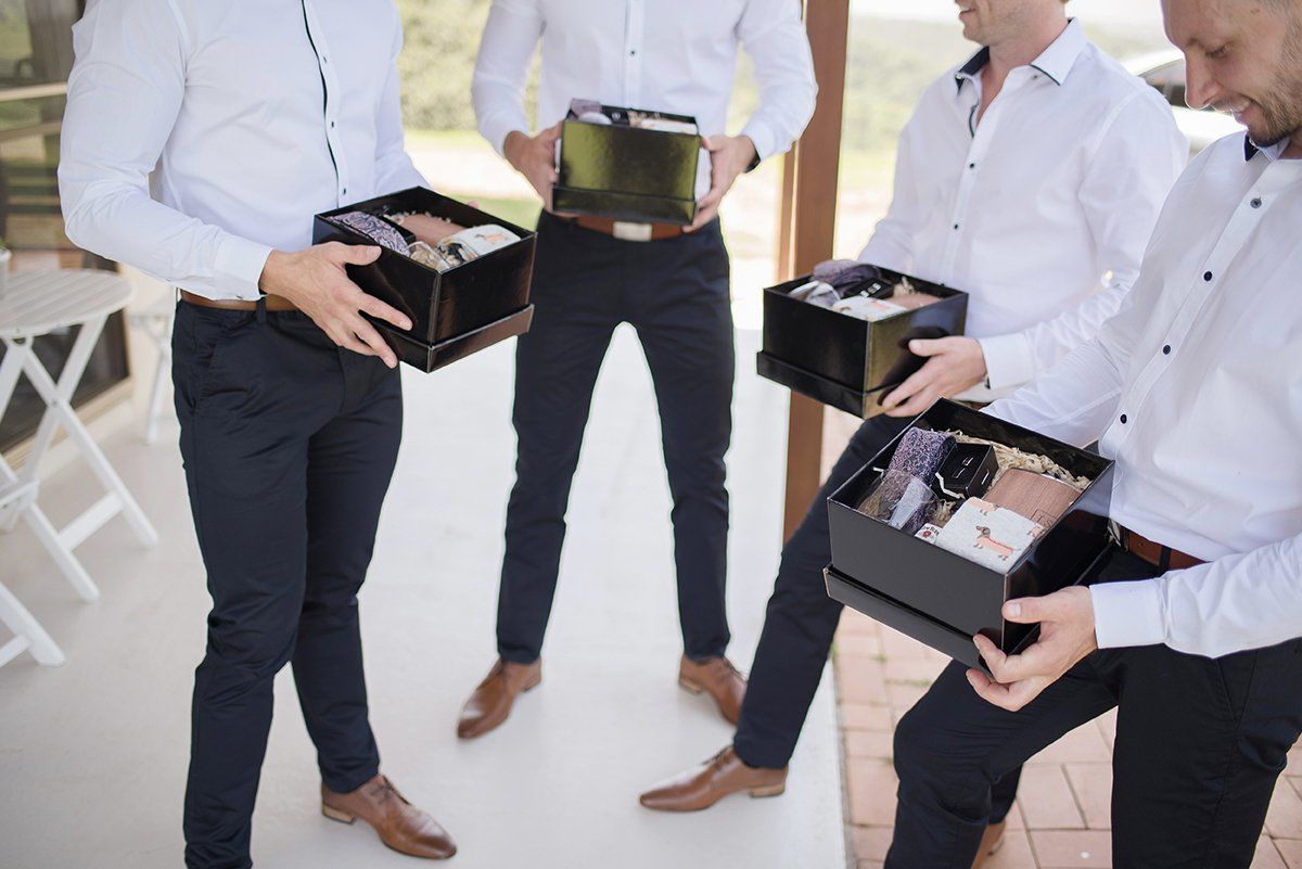 Personalised Best Man Boxes