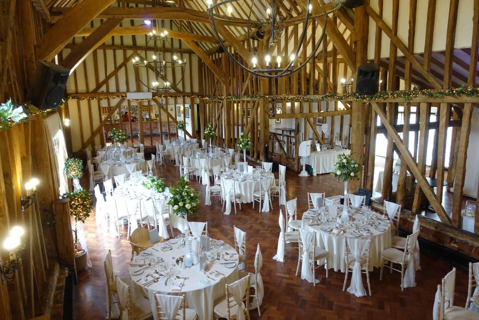 Barn wedding venues in essex