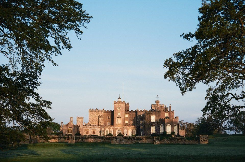 castle wedding venues in exeter